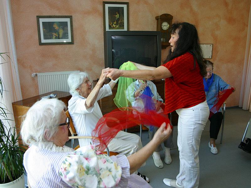 Musiktherapie für Senioren